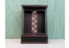 ◆家具調 上置仏壇 ミニ仏壇 チェス オールナット