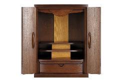 ◆家具調仏壇 ルーナ 18号 上置