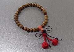 □子供用念珠・数珠 こどもじゅず 正梅 正紐結び梵天