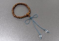□子供用念珠・数珠 こどもじゅず 欅 正紐結び