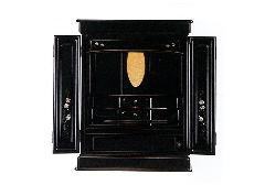 ◆上置仏壇 オーロラ 23号 螺鈿細工