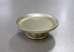 ●高月・供物台 アルミ供物皿 3.0寸 金