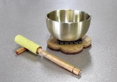 ◆リンセット なごみリン(2.3寸)梅型リン台・リン棒・台セット