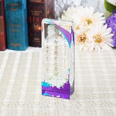 ◆KH−18(KH-18)クリスタル位牌用 オプション UVカラー印刷