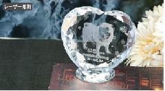 ◆KP-6クリスタル位牌 KP−6 小 レーザー彫刻(テンプレート)