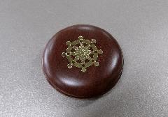●蛤型香合 桜 2.5寸 輪宝
