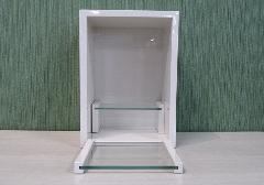 ◆家具調 上置仏壇 ミニ仏壇 ビーファイブ ホワイト