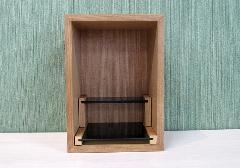 ◆家具調 上置仏壇 ミニ仏壇 ビーファイブ タモ