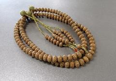 ●天竺菩提樹みかん玉尺7振分共仕立 かがり梵天 桐箱入