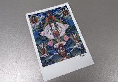 ○仏画ポストカード H31 千手観音