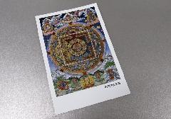 □仏画ポストカード H29 阿弥陀曼荼羅