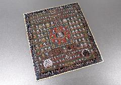 ◆仏画色紙 胎蔵界曼荼羅 84001