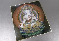 ◆仏画色紙 虚空蔵菩薩 84012