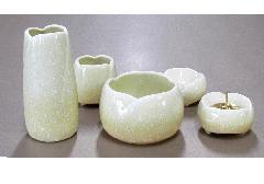 ●やわらぎ5点セット(陶器製) ゆず