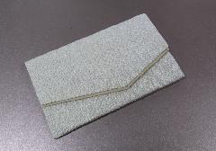 ○念珠袋・数珠袋 二重ちりめん ホワイト