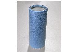 ●花瓶 青油滴投入 尺0 一対(2本)