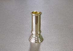 ◎線香差 3.0寸 磨き 真鍮製