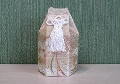 ●六角骨覆 骨袋六角 2.0寸用 彩華��13 分骨袋