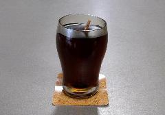 ●アイスコーヒーキャンドル 故人の好物ローソク 【カメヤマ】