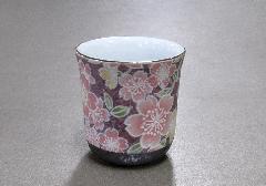 ■花影 湯呑・茶湯器 有田焼 飛花