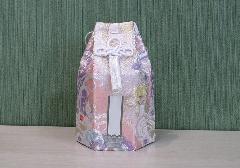 ●六角骨覆 骨袋六角 3.0寸用 花づくし ダリア 分骨袋