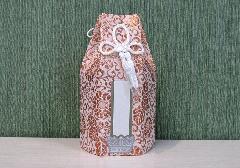 ●六角骨覆 骨袋六角 2.0寸用 新箔 金 分骨袋