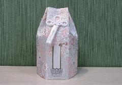 ●六角骨覆 骨袋六角 3.0寸用 花づくし 乱菊 分骨袋