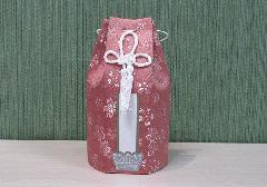 ◇六角骨覆 骨袋六角 3.0寸用 かのん ピンク 分骨袋