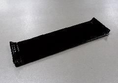 ■前卓 木製 下須板 8.0寸 タメ・黒