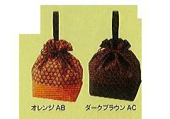 ◆和柄手提げ巾着 籠目柄 ×1ロット(100個)