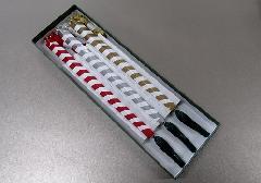 ●酒水枝 3本セット 金・銀・赤