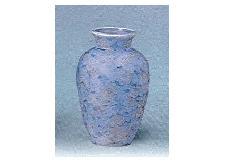 △花瓶・花立 大理石調夏目花瓶 7.0寸 グリーン×1対(2ヶ)