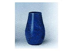 △花瓶・花立 大理石調下太花瓶 8.0寸 ブルー×1対(2ヶ)