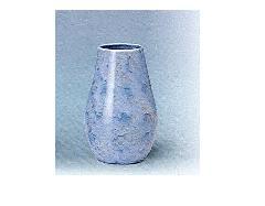△花瓶・花立 大理石調下太花瓶 8.0寸 グリーン×1対(2ヶ)