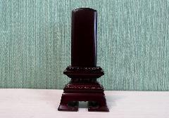 ●位牌 紫檀 蓮付春日 3.0寸