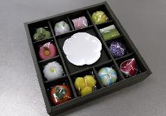 ●和菓子づくし ギフトセット 故人の好物ローソク 【カメヤマ】