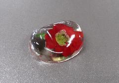 □押し花シリーズ 押し花のリン棒台 バラ