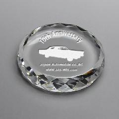 ◆DW-2円形ダイヤカットクリスタル DW−2 サンド彫刻