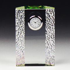 ◆DT-15クリスタル時計 DT−15 サンド彫刻