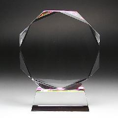 ◆DP-9クリスタル位牌 DP−9 小 サンド彫刻