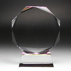 ◆DP-9クリスタル位牌 DP−9 中 サンド彫刻