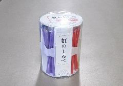 ■虹のしるべ 5分ローソク49本入 肉球型の専用ローソク立付 7種の香り