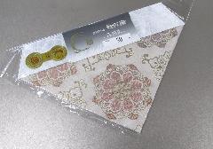 □夏用三角打敷 上正絹紗 華紋 50代 浄土真宗用