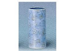 △花瓶・花立 大理石調投入 9.0寸 グリーン×1ケース(12ヶ)