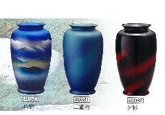 ◇花瓶・花立 山影・二重奏・夕彩 9.0寸