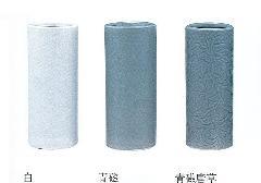 ◇花瓶・花立 白・青磁・青磁唐草 7.0寸