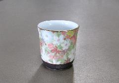 ■花影 湯呑・茶湯器 有田焼 ききょう
