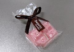 ●ミニスイーツキャンドル イチゴチョコレート 【カメヤマ】