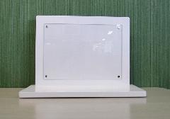 ●手元供養壇 アクリルパネル飾り台 和紙付 ホワイト