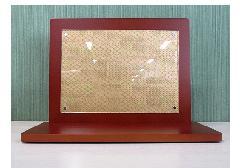 ■手元供養壇 アクリルパネル飾り台 和紙付 ブラウン